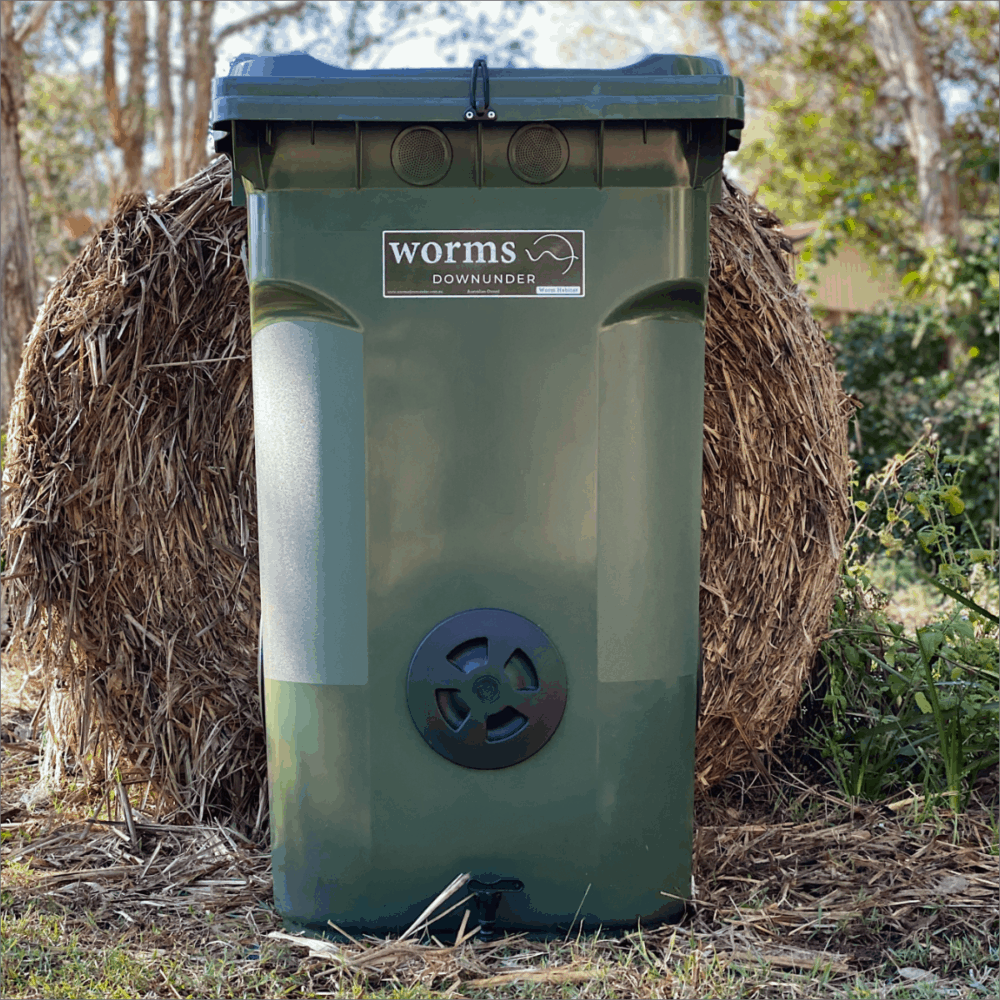 Worms Downunder Australian Worm Farms Habitats And Vermicomposting Experts. 360 L Dark Green 1