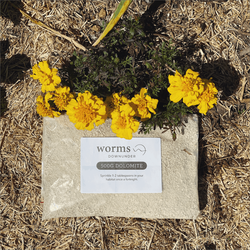 Worms Downunder Australian Worm Farms Habitats And Vermicomposting Experts. Dolomite Packaged
