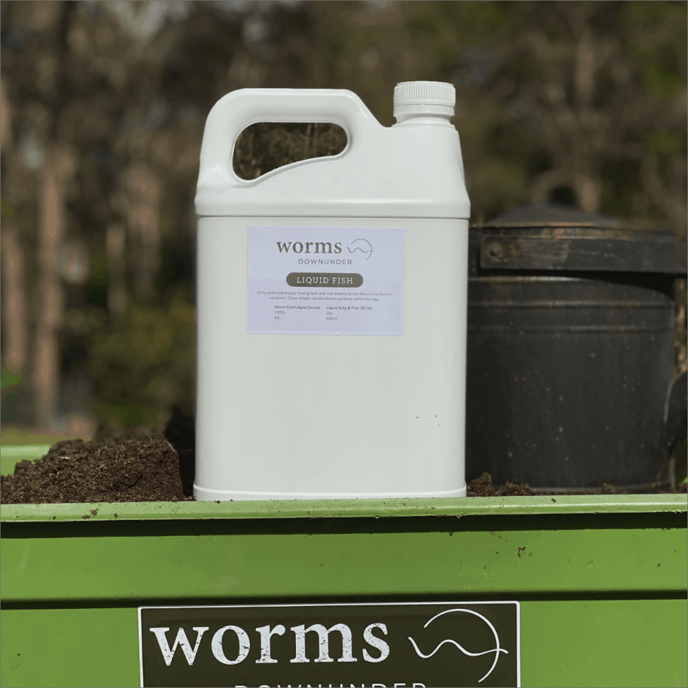 Worms Downunder Australian Worm Farms Habitats And Vermicomposting Experts. Liquid Fish