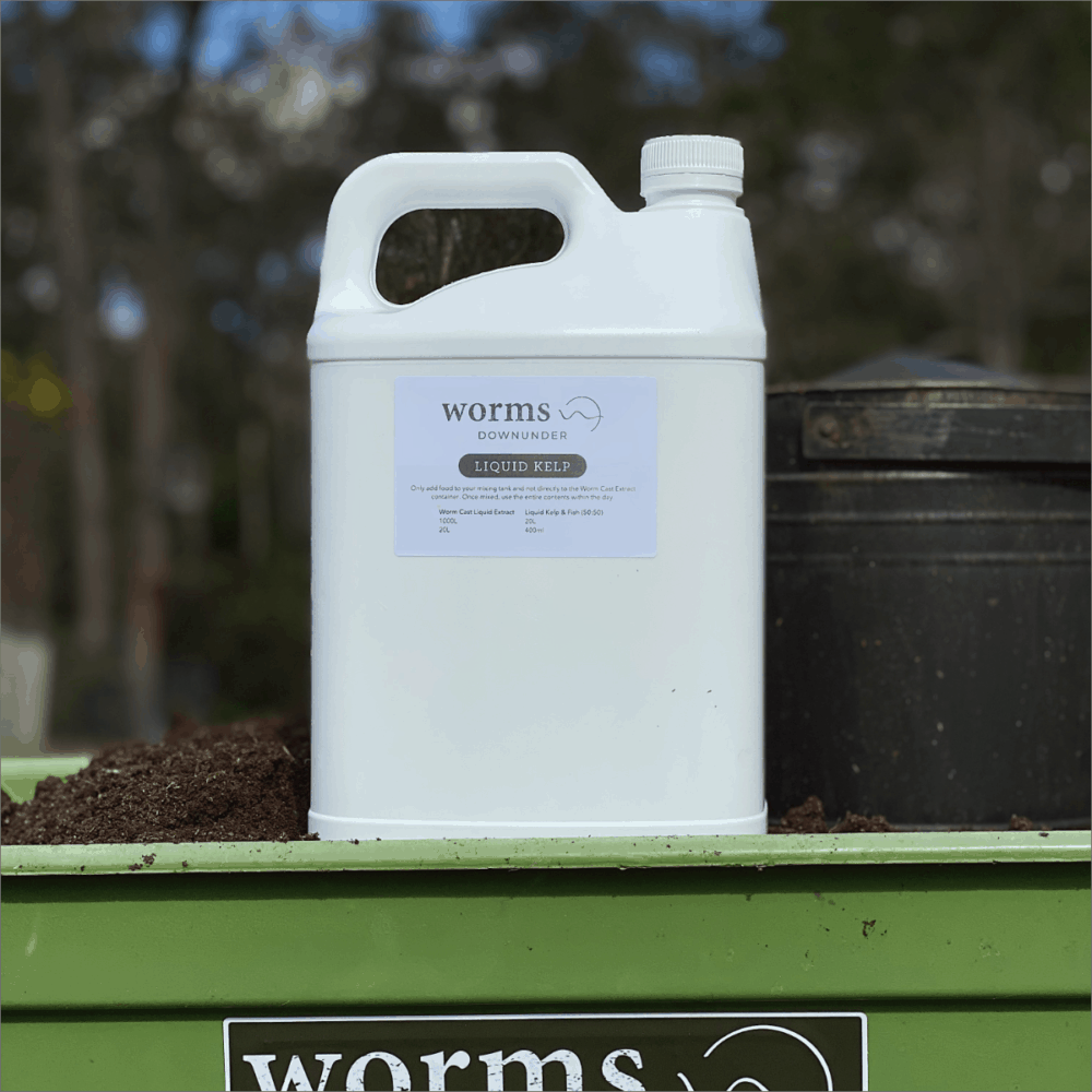 Worms Downunder Australian Worm Farms Habitats And Vermicomposting Experts. Liquid Kelp