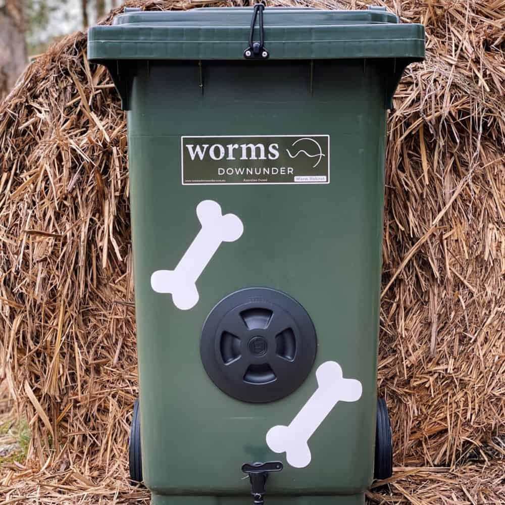 Worm Farm For Dogs Dark Green